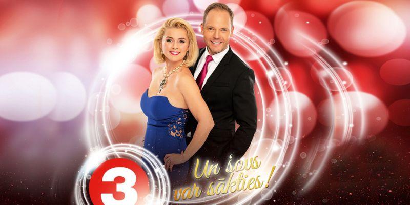 Piedzīvo krāšņu TV3 Jaungada šovu - Prieks kopā būt!