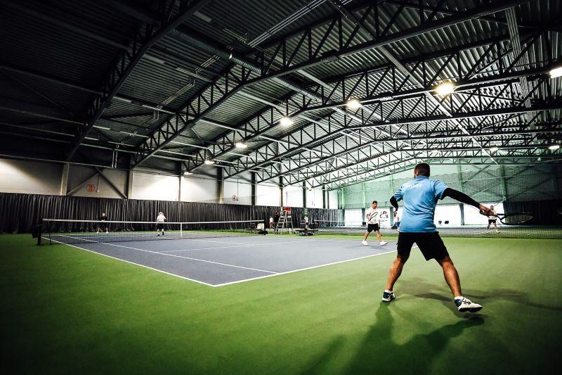 Liepājā svinīgi atklāta LOC Tenisa halle