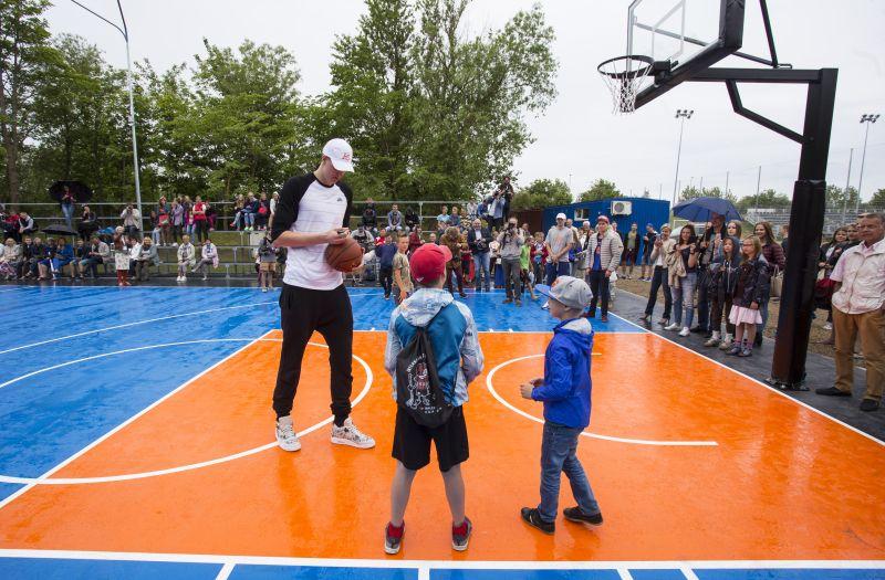 Notiks KP basketbola laukuma atjaunošana