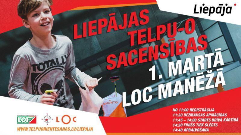 LOC Manēžā jau otro reizi norisināsies Liepājas telpu orientēšanās sacensības