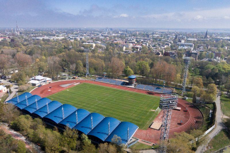 """Stadiona """"Daugava"""" teritorijā būs pārvietošanās ierobežojumi"""